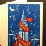 Happy holidays (Empire State Bldg)