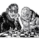 Untitled (chess players)