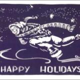 Happy Holidays(skater)