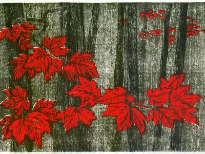 """Fall maple leaves"""