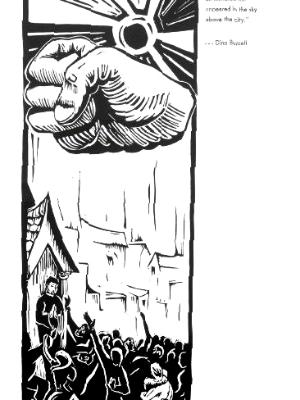 Dino Buzzatti - Giant fist