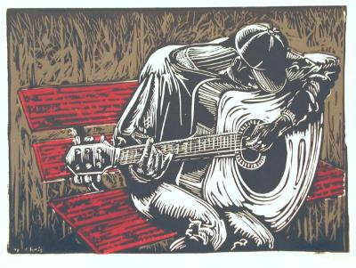Untitled (Guitar player)