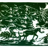Merry Christmas (sleigh)