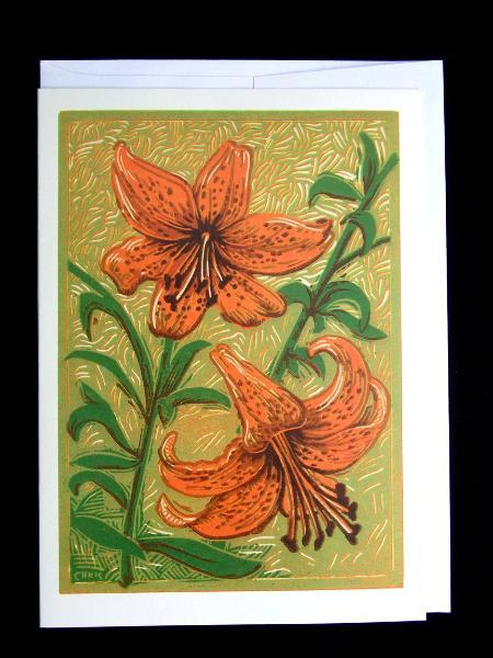 """Tiger Lilies"""